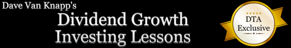 Dave Van Knapp's Dividend Growth Investing Lessons
